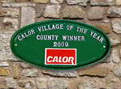 Calor Village of the Year Plaque